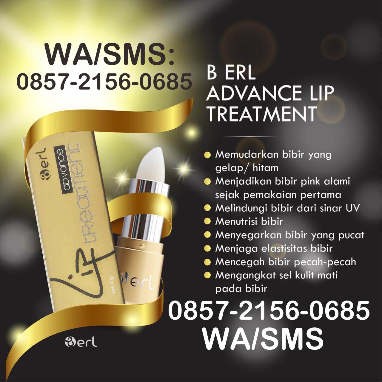 0857 2156 0685 B Erl Advance Lip Treatment Cosmetic Matte Cream Cosmetics Kosmetik Beauty